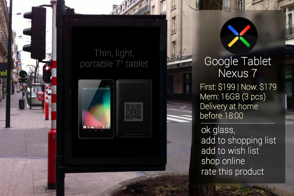publicidad en google glass