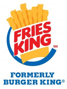 Fries King, Burger King, Símbolo Ingenio Creativo