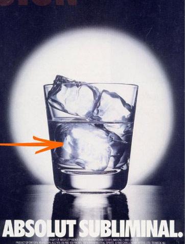 ABSOLUT,  ¿Publicidad subliminal o viralidad gratuita? Símbolo Ingenio Creativo