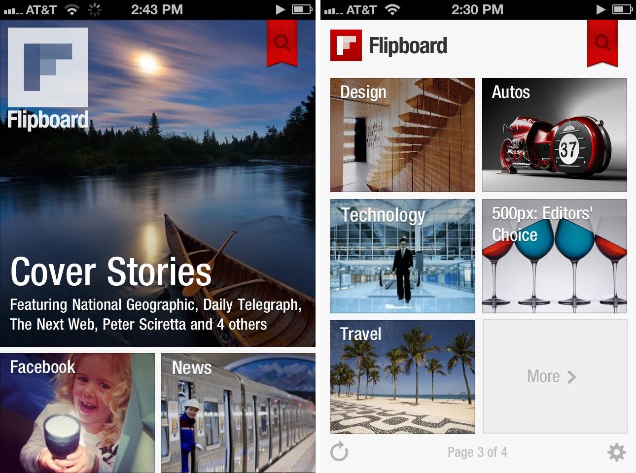 10 Apps que todo publicista necesita tener en su Smartphone, Símbolo Ingenio Creativo, Flipboard