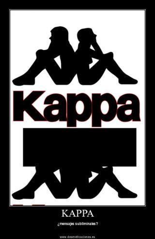 KAPPA, ¿Publicidad subliminal o viralidad gratuita? Símbolo Ingenio Creativo