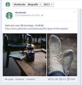 ejemplo storytelling Facebook