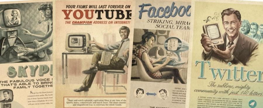 Cartelería Redes Sociales