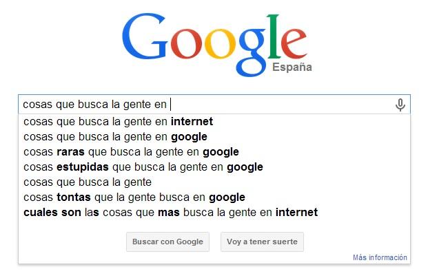 Qué cosas busca la gente en Google