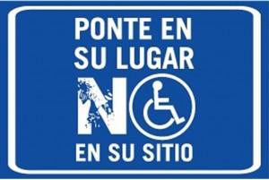 campaña para respetar a personas discapacitadas