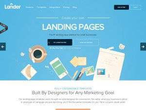 Landing pages como estrategia de marketing online.