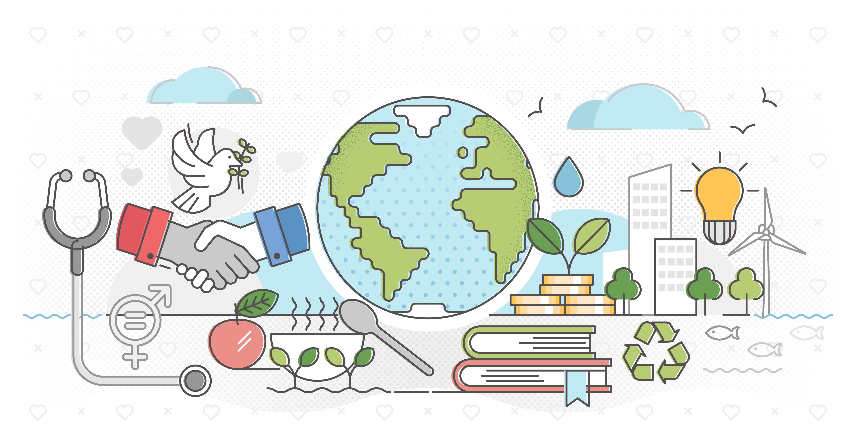 La importancia de los 17 ODS para Símbolo
