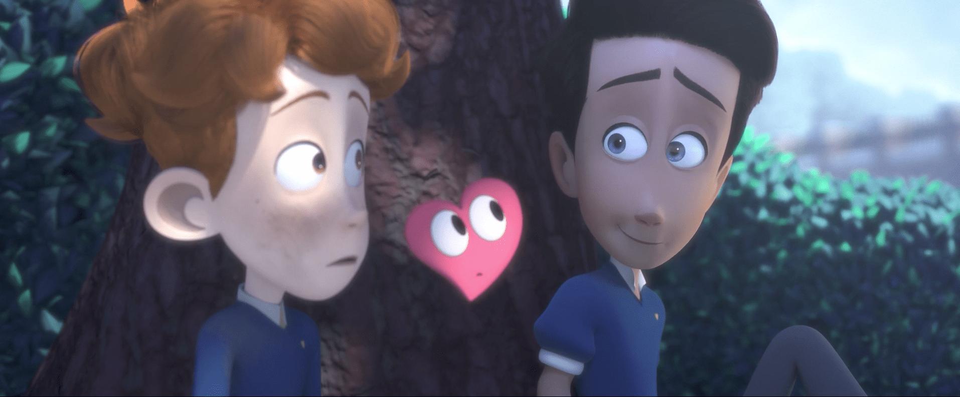 Cortometraje Heartbeat,  animación viral en 3D