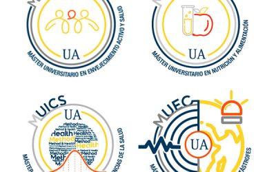 Identidad corporativa de másteres en la Universidad de Alicante