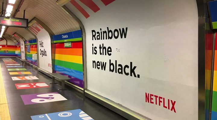 Rainbow is the new black (Chueca) – Orange is the new black
