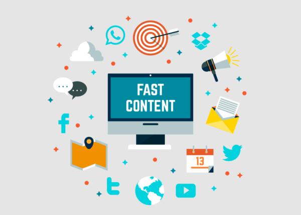 El «fast content» qué es y por qué es una tendencia para este 2019.