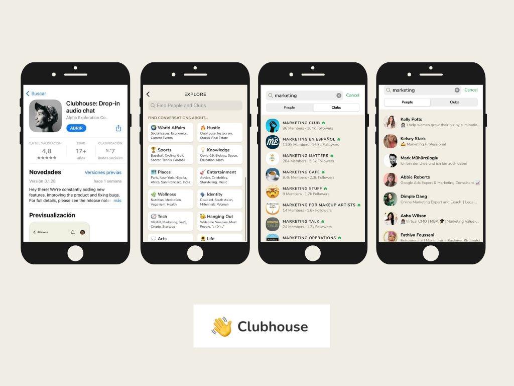 Qué es y cómo funciona clubhouse