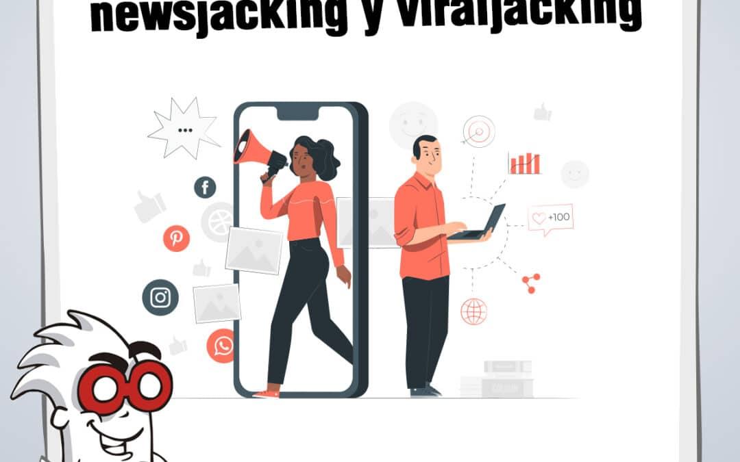 Diferencias entre newsjacking y viraljacking
