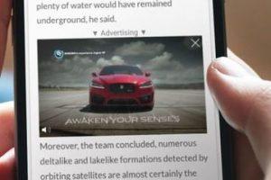 Publicidad digital: Ejemplo de video outstream.